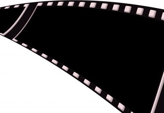 film filmstrip black