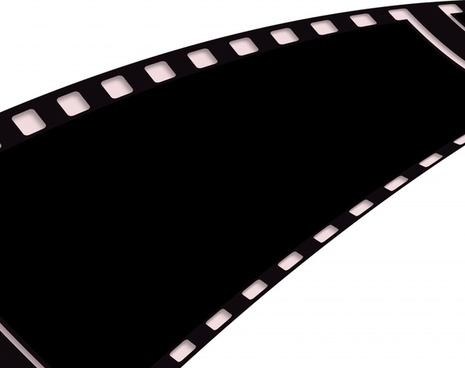 film filmstrip black