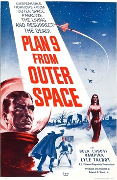 film poster feature film plan 9 from outer space