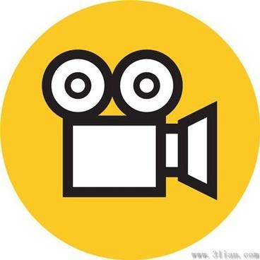 film screenings icons vector