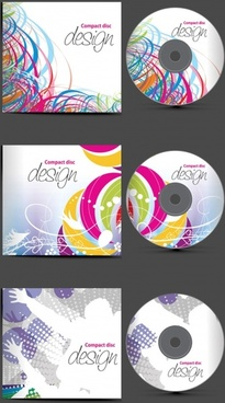 fine cd set vector