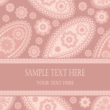 fine decorative patterns background vector