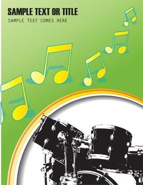fine drum 04 vector