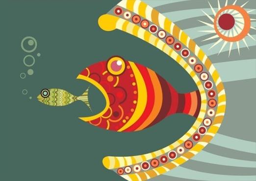 fine illustrator of children 01 vector