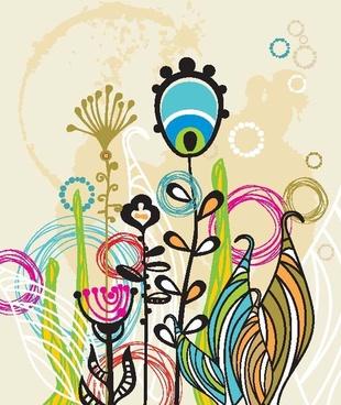 fine illustrator of children 05 vector