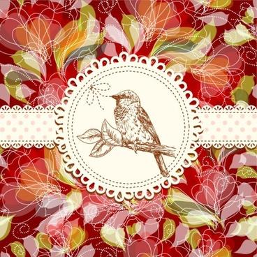 fine pattern background 03 vector