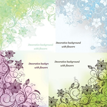 fine print background vector