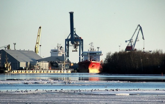 finland harbor ship
