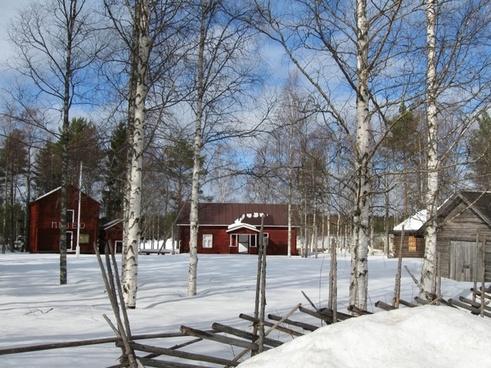 finland landscape sky