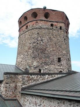finland olavinlinna castle tower