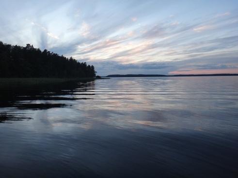 finland summer lake