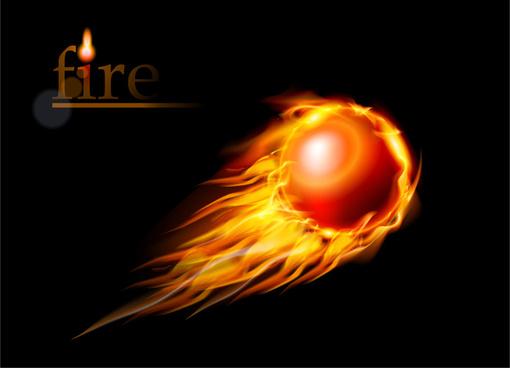 fire ball fly