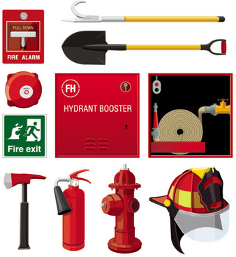 fire control equipment set