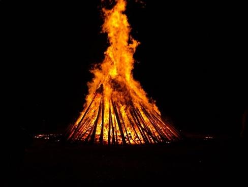 fire fire circle hot