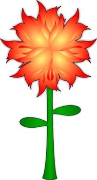 Fire Flower  clip art