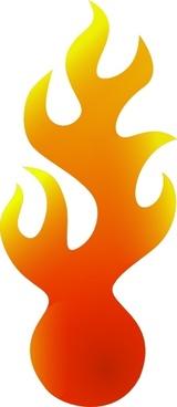 Fire-ball clip art
