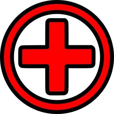 First Aid Icon clip art