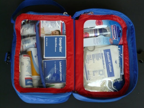 first aid kit kits medical patch