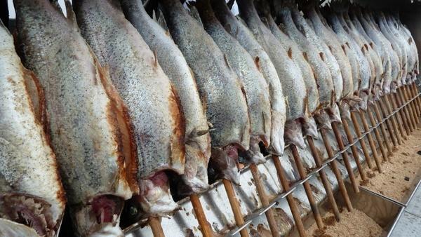fish cod smoked