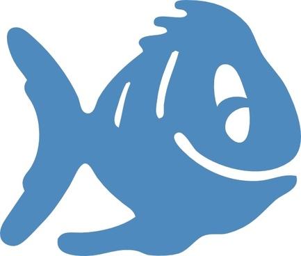 Fish Icon clip art