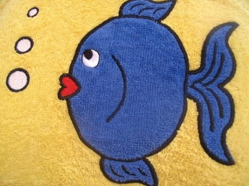 fish small blue