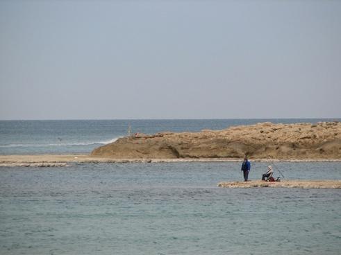 fisherman sea boat