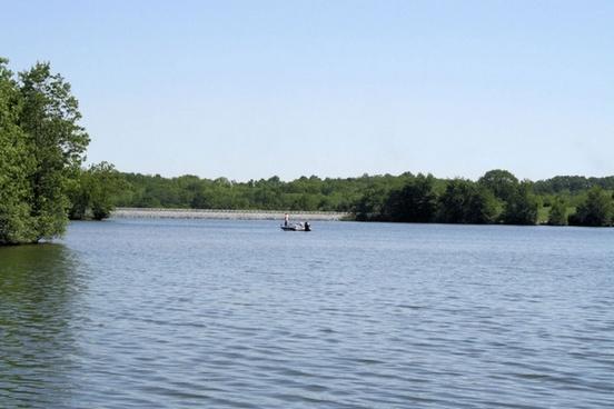 fishing at veterans memorial lake