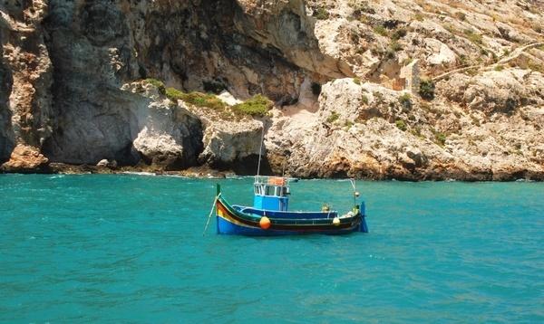 fishing boat water sea