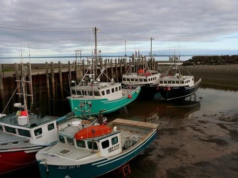fishing boats atlantik