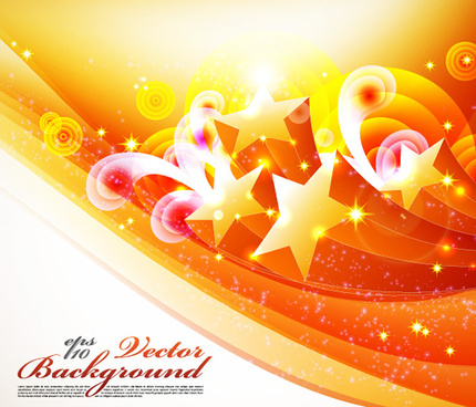 five pointed star pattern background vector