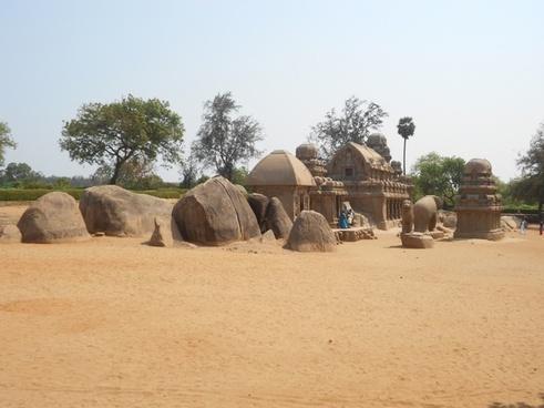 five rathas temple mahabalipuram india