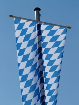 flag bavaria flagge
