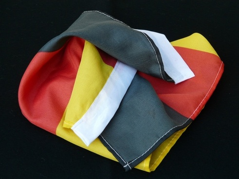 flag germany black