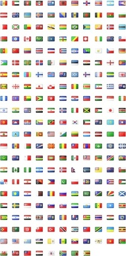Flag icons icons pack