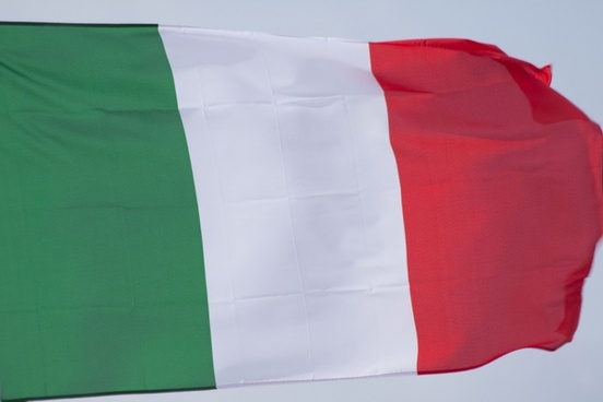 flag italy green