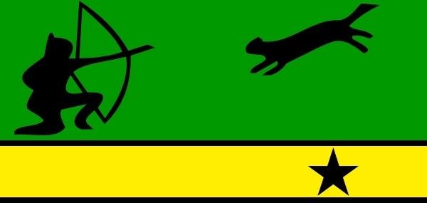 Flag Of Amazonas Colombia clip art
