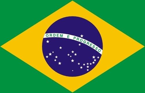 Flag Of Brazil clip art