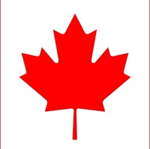 Flag Of Canada clip art