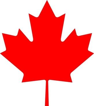 Flag Of Canada Leaf clip art