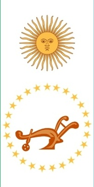 Flag Of Chaco Province In Argentina clip art