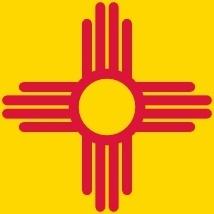 Flag Of New Mexico Usa clip art