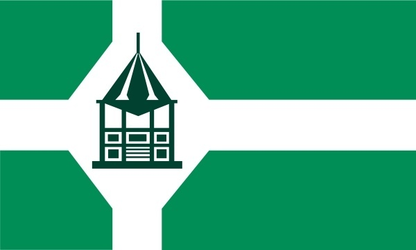 Flag Of New Milford Connecticut clip art