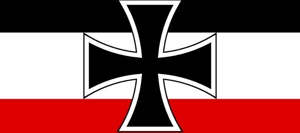 Flag Of North German Confederation Jack clip art