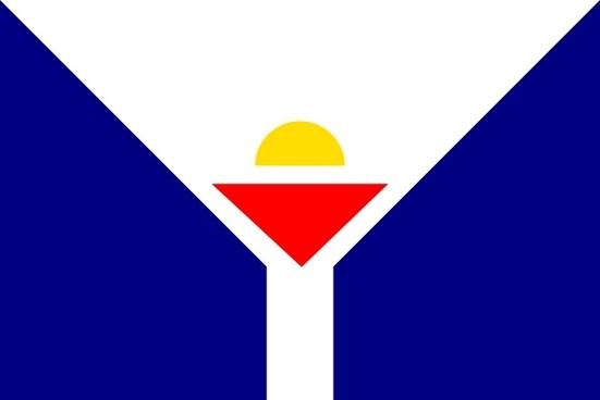 Flag Of Saint Martin clip art