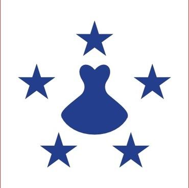 Flag Of The Austral Islands clip art