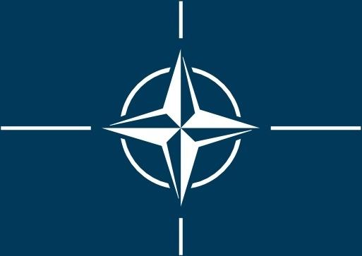 Flag Of The North Atlantic Treaty Organization clip art