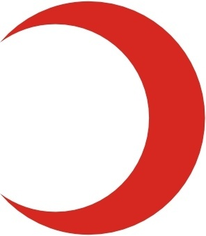 Flag Of The Red Crescent Reverse clip art