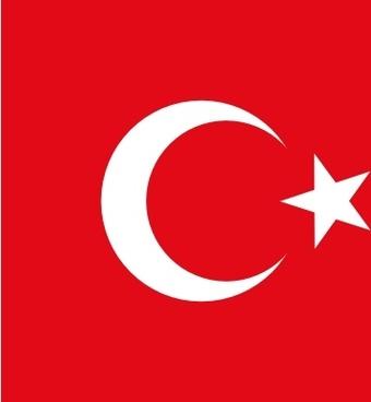 Flag Of Turkey clip art