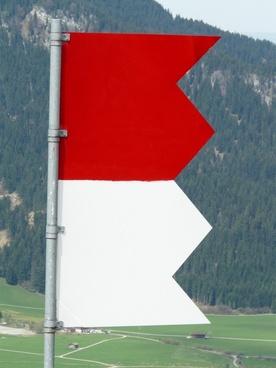 flag red white