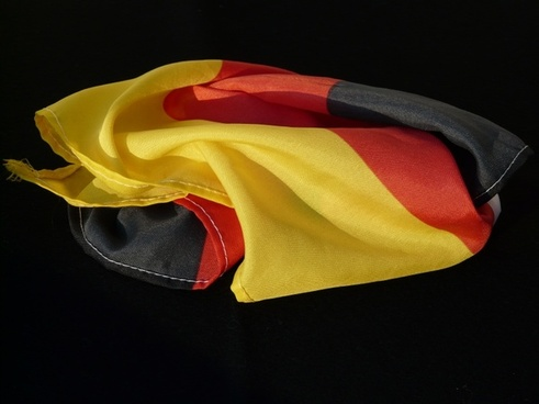 flag rumpled germany